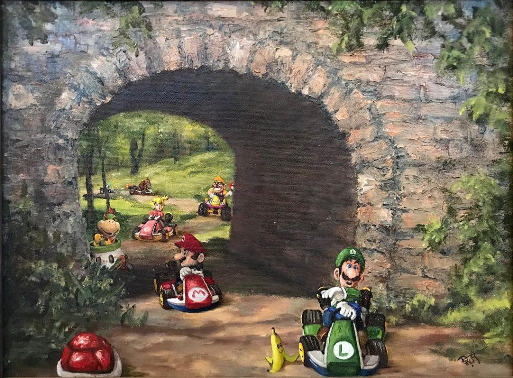 Марио | «Re-directed painting» – самое странное направление в современной живописи | Brain Berries