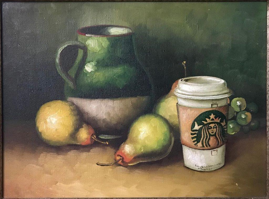 «Герой нашего времени» –  пластиковый стаканчик из Starbucks   | «Re-directed painting» – самое странное направление в современной живописи | Brain Berries