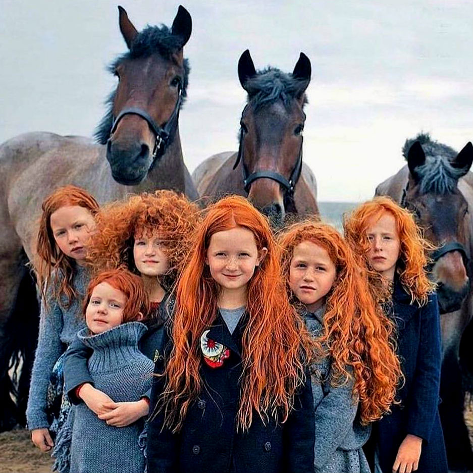 Most redheads are in Ireland and Scotland |  10 Amazing Reasons Why Redheads Are So Special | ZestRadar