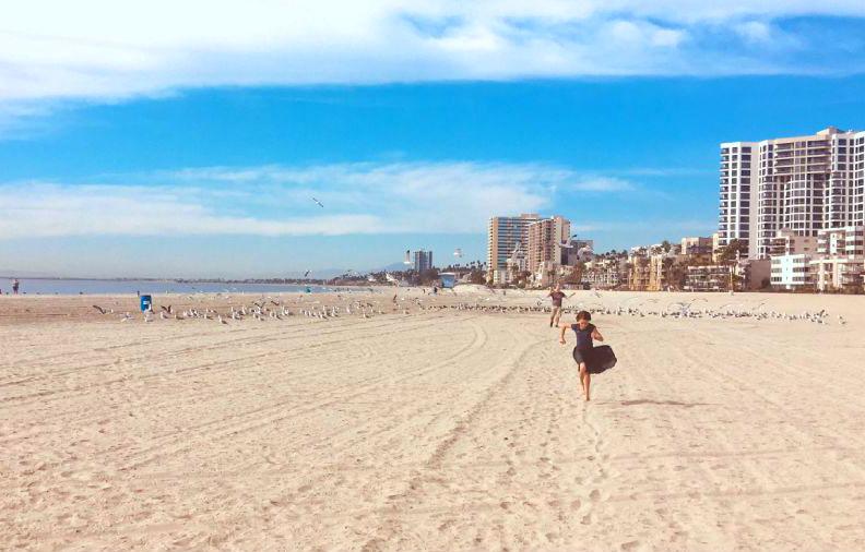 Лонг-Бич , США   10 самых длинных пляжей мира   ZestRadar