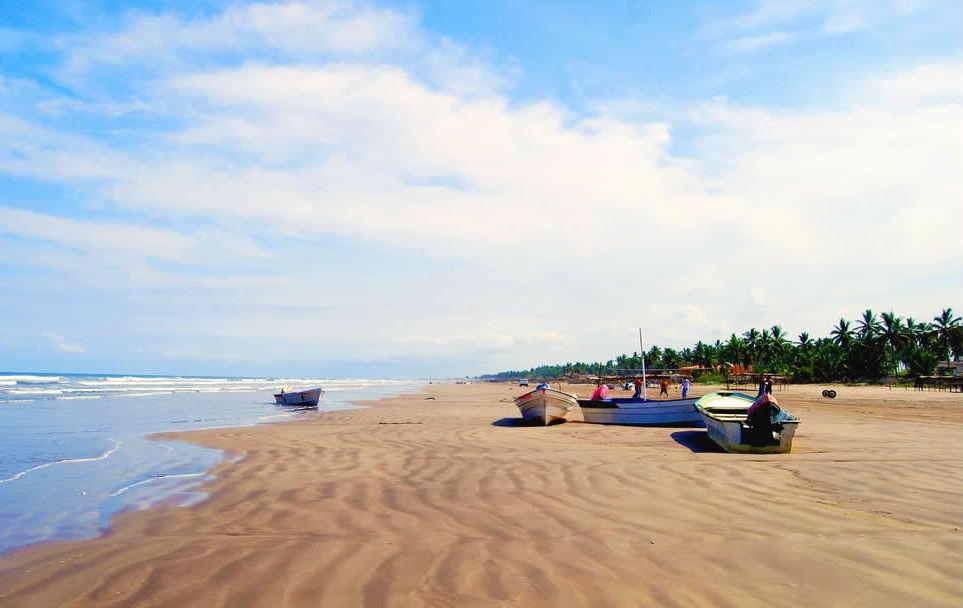 Плайя Новильеро, Мексика | 10 самых длинных пляжей мира | ZestRadar