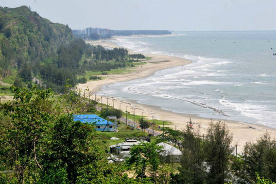 Кокс-Базар, Бангладеш    10 самых длинных пляжей мира   ZestRadar