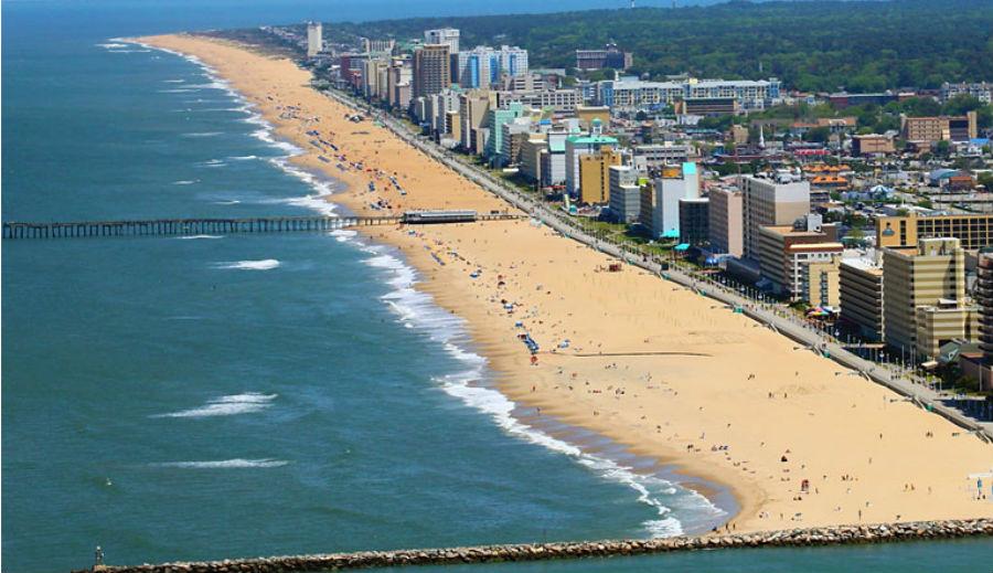 Вирджиния-Бич, США   10 самых длинных пляжей мира   ZestRadar