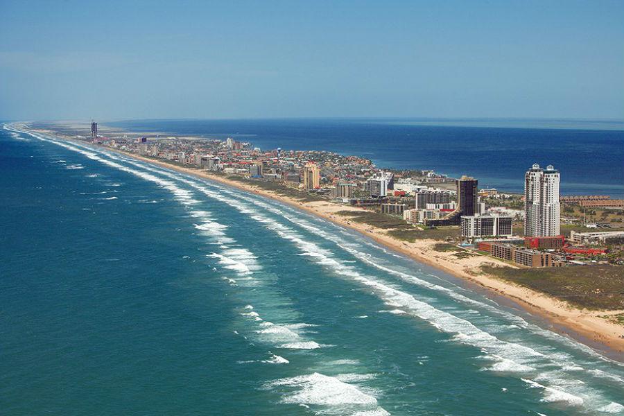 Падре, штат Техас   10 самых длинных пляжей мира   ZestRadar