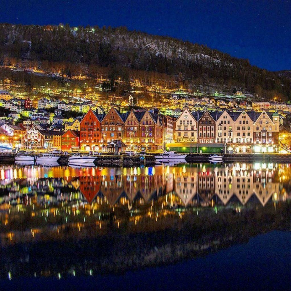 Берген, Норвегия | 8 самых романтичных и красивых портов в мире | Brain Berries