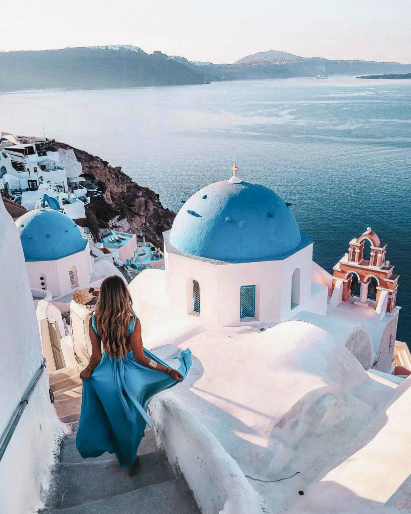 Санторини, Греция | 8 самых романтичных и красивых портов в мире | Brain Berries
