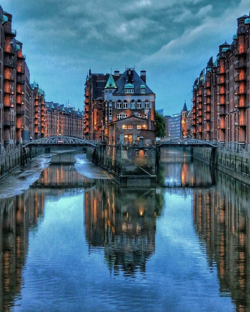 Гамбург, Германия | 8 самых романтичных и красивых портов в мире | Brain Berries
