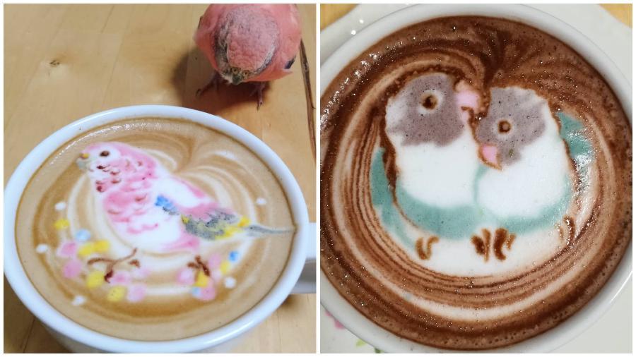 Bird Latte Art #8 | Zestradar