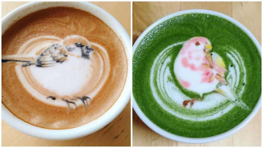 Bird Latte Art #9 | Zestradar