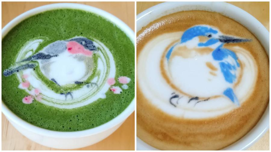 Bird Latte Art #10 | Zestradar