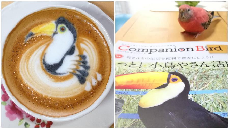 Bird Latte Art #12 | Zestradar