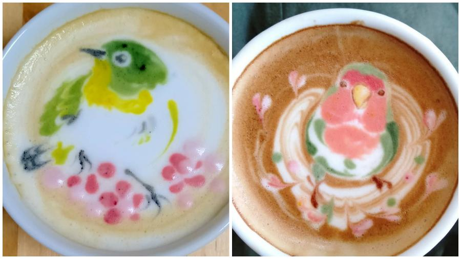 Bird Latte Art #2| Zestradar