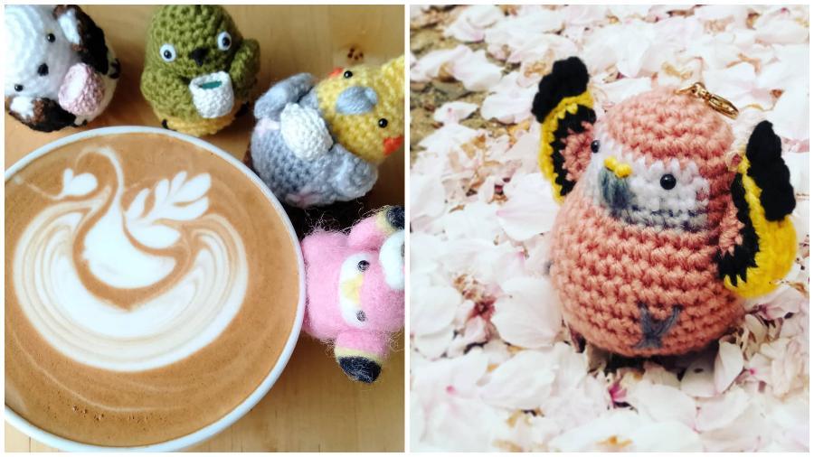 Bird Latte Art #7 | Zestradar