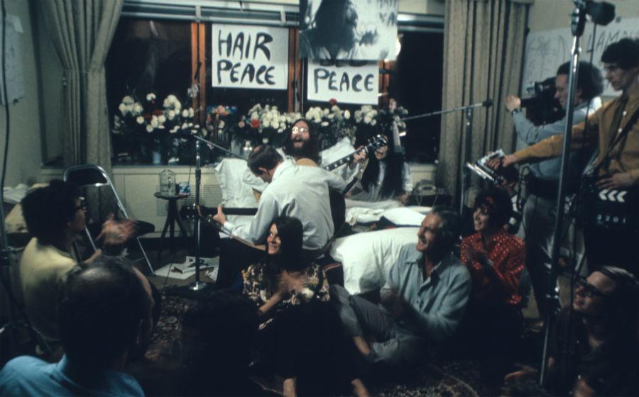 Семидневный «медовый месяц» Джона Леннона и Йоко Оно в кровати | Топ-6 крутейших перформансов с участием| Brain Berries