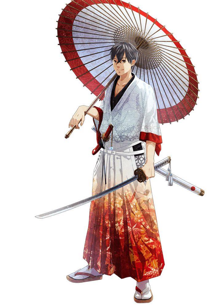 Japan And It's Flag Like Anime Character   Brain Barries
