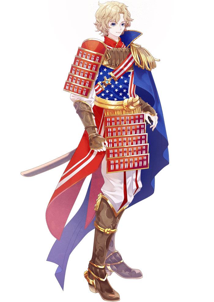 USA And It's Flag Like Anime Character   Brain Barries