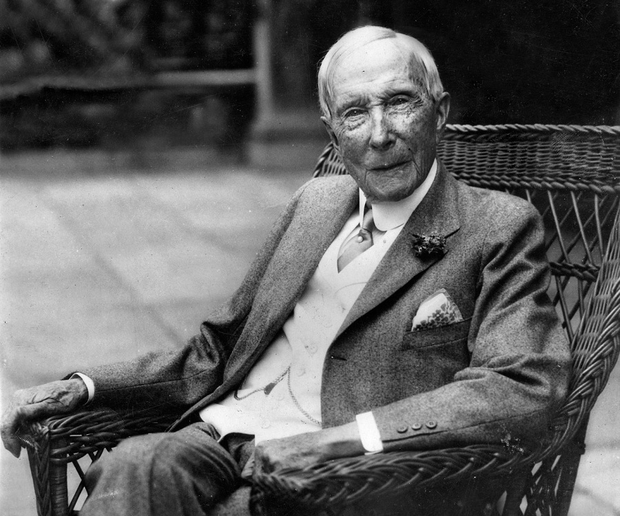 John D. Rockefeller | 15 Richest People Of All Time And Their Net Worth In Today's Dollar Value  | ZestRadar