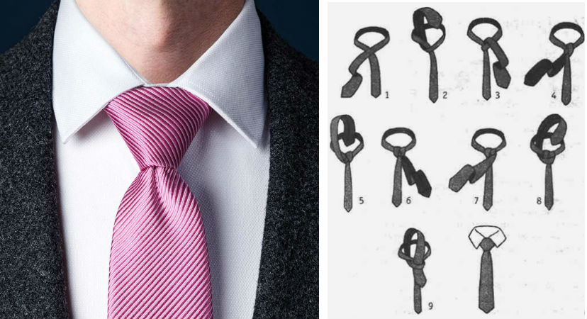 Узел Виндзор | 8 способов завязать красиво галстук | Brain Berries