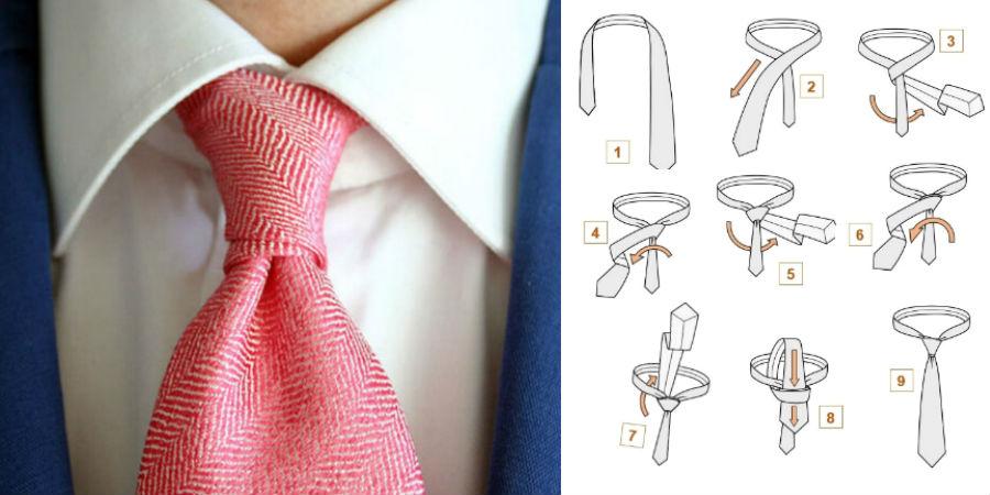 Узел Принц Альберт | 8 способов завязать красиво галстук | Brain Berries