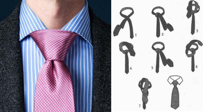 Узел Балтус | 8 способов завязать красиво галстук | Brain Berries