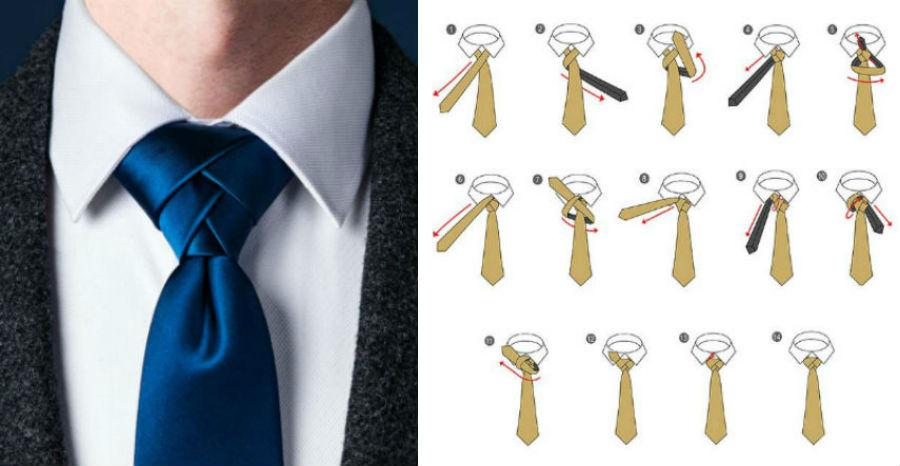 Узел Элдридж | 8 способов завязать красиво галстук | Brain Berries