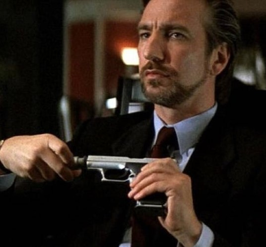 Die Hard Alan-Rickman | 12 Actors Who Always Play Villains | Brain Berries