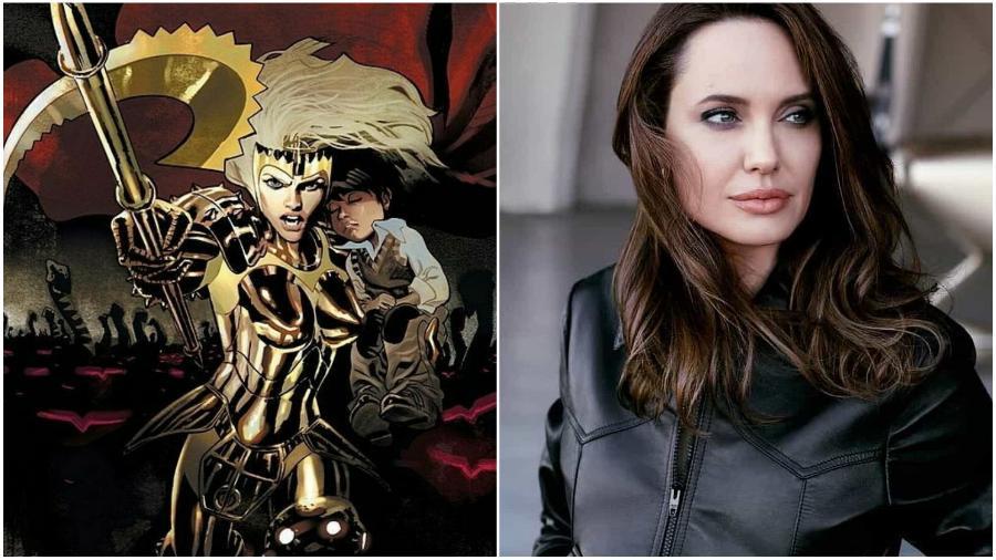 Angelina Jolie – Thena | 10 Actors To Join The Marvel Cinematic Universe | ZestRadar