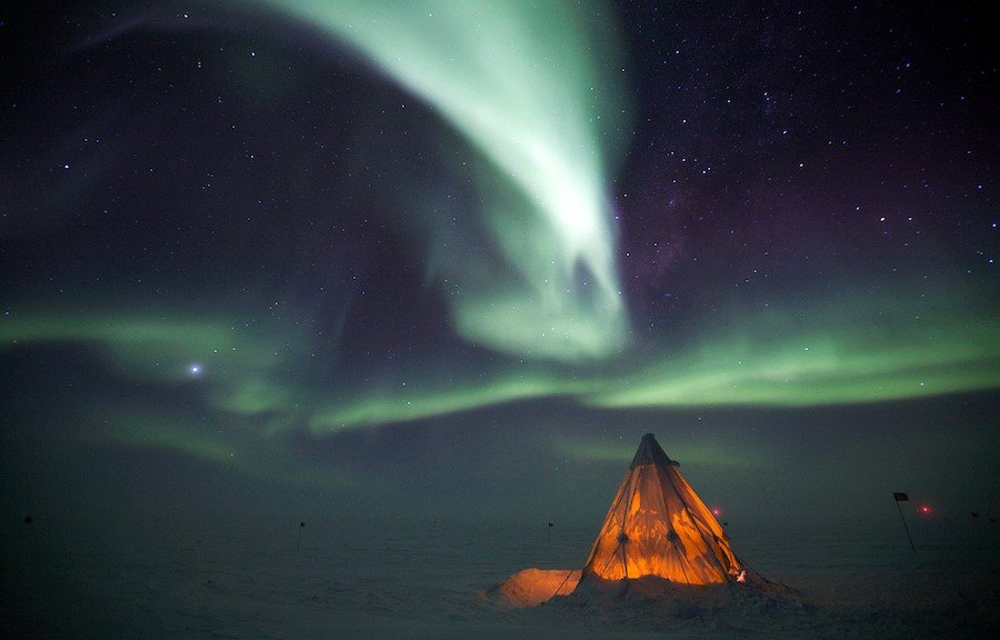 Antarctica | Contemplate Life at These 10 Stargazing Locations | Brain Berries