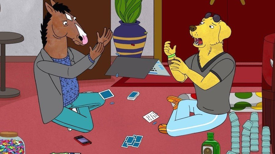 BoJack and Mr. Peanutbutter | Top 10 Enemies Turned Friends in TV | Brain Berries