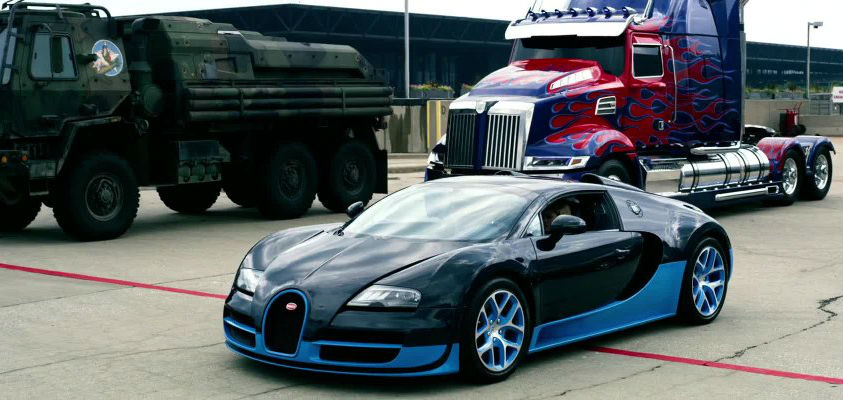 Bugatti Veyron Grand Sport Vitesse  | The 6 Best Supercars In Movies | Brain Berries
