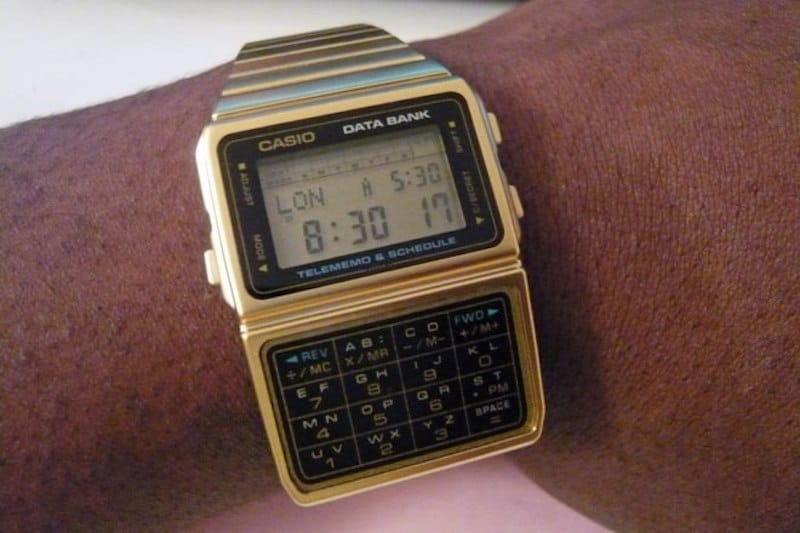 Casio Databank | 8 Best 1980s Gadgets that Defined a Decade| Brain Berries