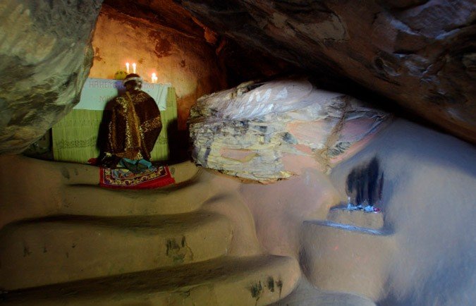 Cave Chapel at Modderpoort Prior, South Africa | 17 Astonishingly Beautiful Cave Churches Around The World | Brain Berries