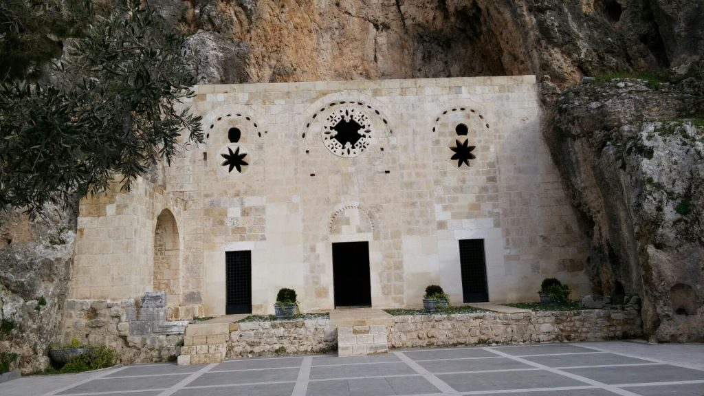 Cave Church of St. Peter, Hatay, Turkey exterior | 17 Astonishingly Beautiful Cave Churches Around The World | Brain Berries