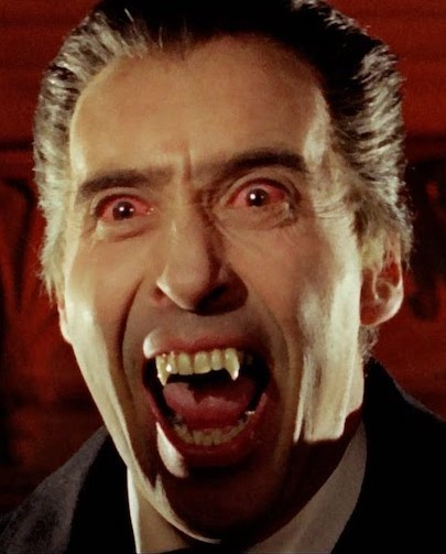 Dracula Christopher-Lee | 12 Actors Who Always Play Villains | Brain Berries