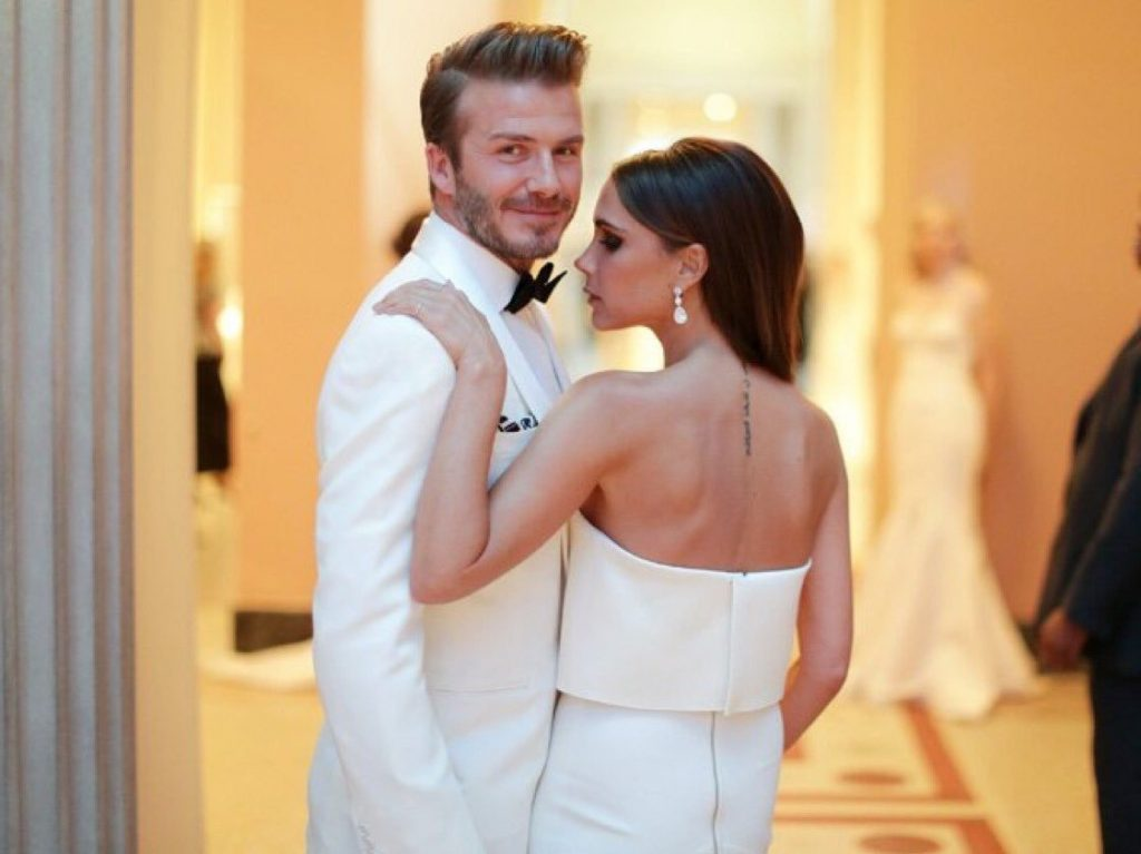 David and Victoria Beckham | 10 Most Romantic Gestures Ever Done By Celebrities | Brain Berries