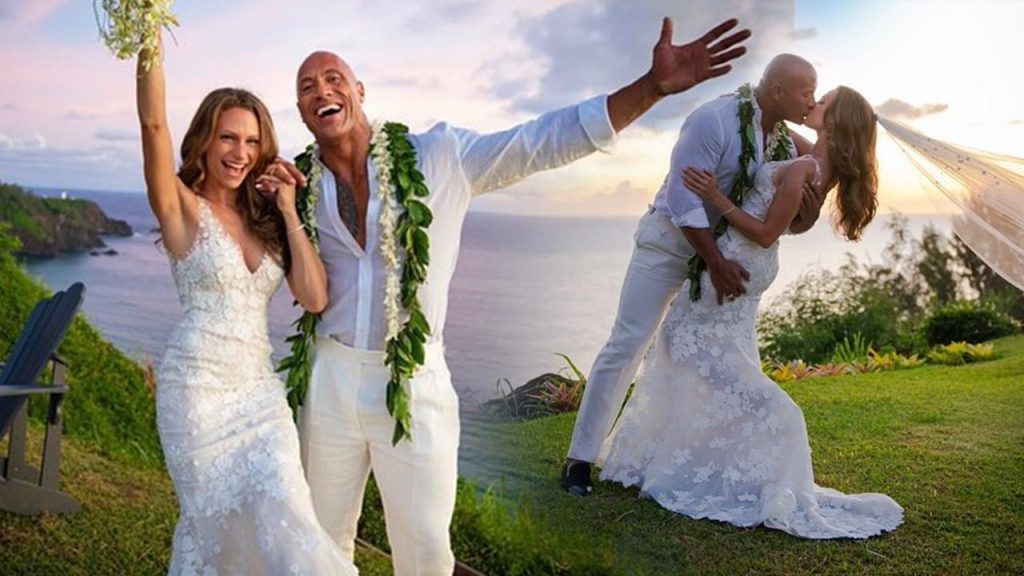 Dwayne 'the Rock' Johnson and his wife | 10 Most Romantic Gestures Ever Done By Celebrities | Brain Berries