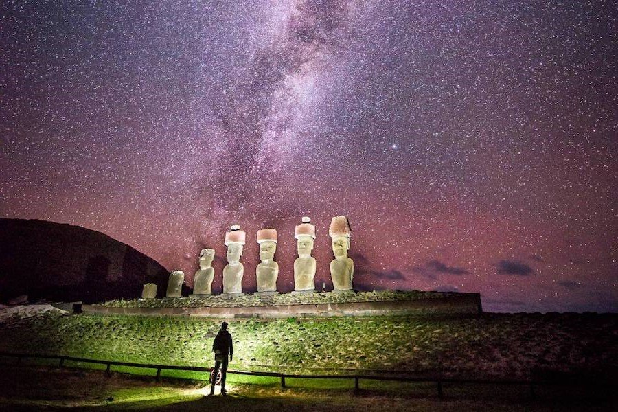 Easter Island | Contemplate Life at These 10 Stargazing Locations | Brain Berries