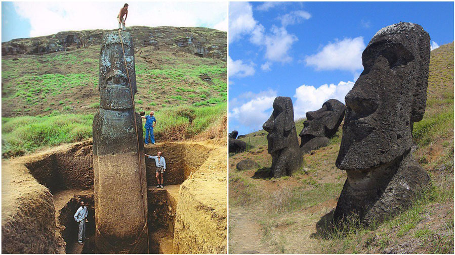 Easter Island Statues: New Excavation Reveals Mind-Bending Facts #1 | ZrestRadar
