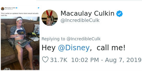 Macaulay Culkin Cracks Up The Internet With His Own Version Of The New 'Home Alone' | Brain Berries