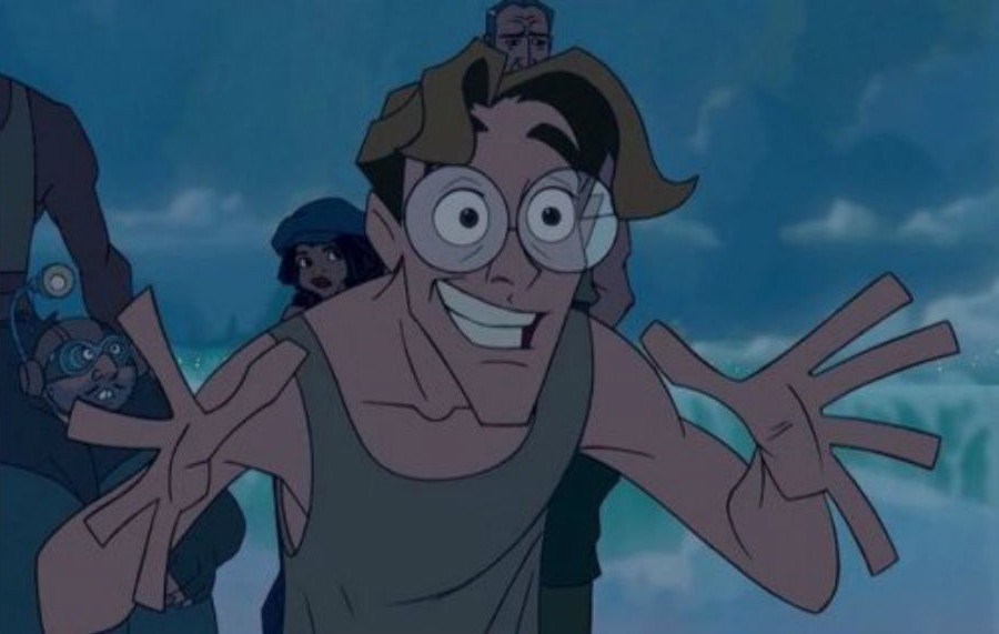 Milo James Thatch | Top 10 Disney Male Role Models | Brain Berries