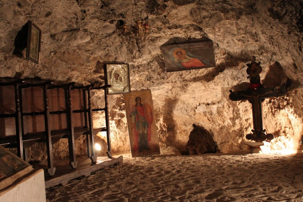 Monastery of the Temptation, West Bank city of Jericho | 17 Astonishingly Beautiful Cave Churches Around The World | Brain Berries