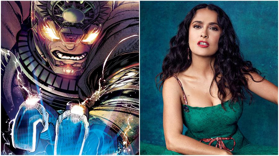 Salma Hayek – Ajak | 10 Actors To Join The Marvel Cinematic Universe | ZestRadar