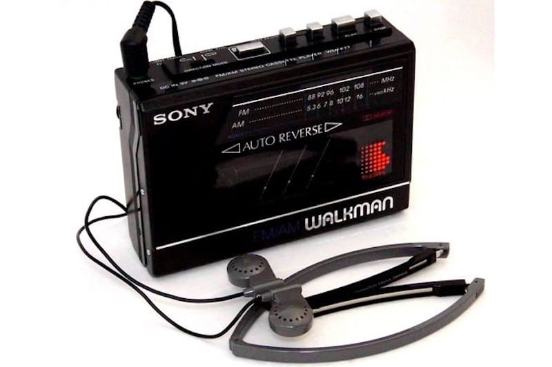 Sony Walkman | 8 Best 1980s Gadgets that Defined a Decade| Brain Berries
