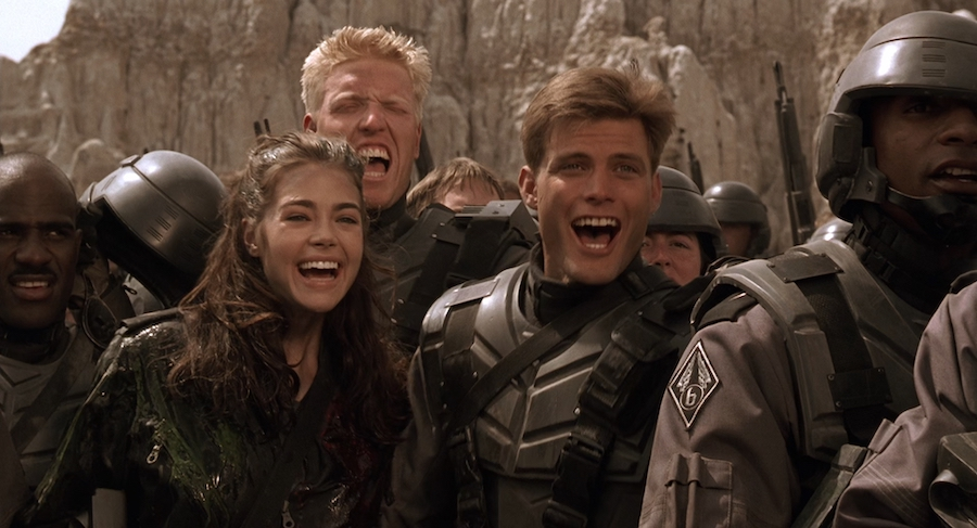 Starship Troopers (1997) | 9 Movies That Were Reshot to Please the Viewers | Brain Berries