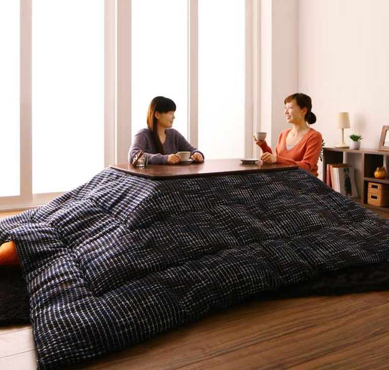 Table / Blanket Hybrid | 8 Insane Everyday Japanese Tech That make You Wish You Lived In Japan | Brain Berries