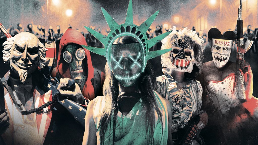 The Purge | 9 Dystopian Movie Worlds You'd never Want To Live In | Brain Berries
