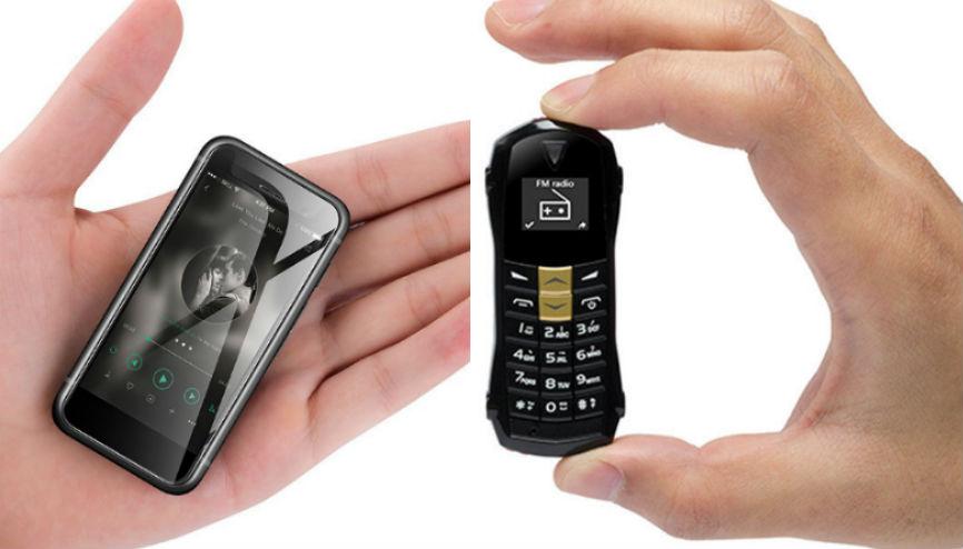 Top 10 Tiniest Phones Ever Made | Brain Berries