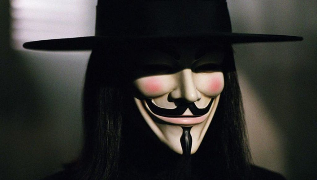 V is for Vendetta | 9 Dystopian Movie Worlds You'd never Want To Live In | Brain Berries