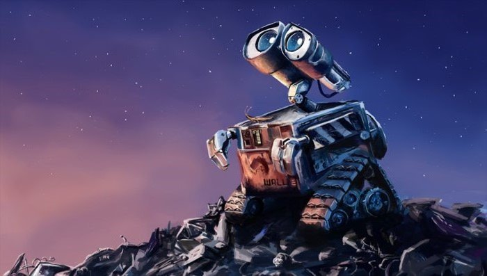 Wall-E | 9 Best Movie Robots of All Time | Brain Berries