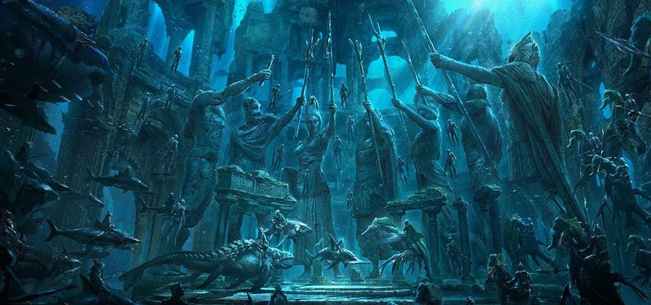Атлантида | 7 древних исчезнувших цивилизаций | ZestRadar